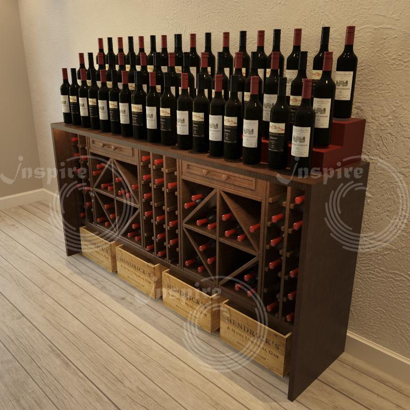 деревянные винные шкафы